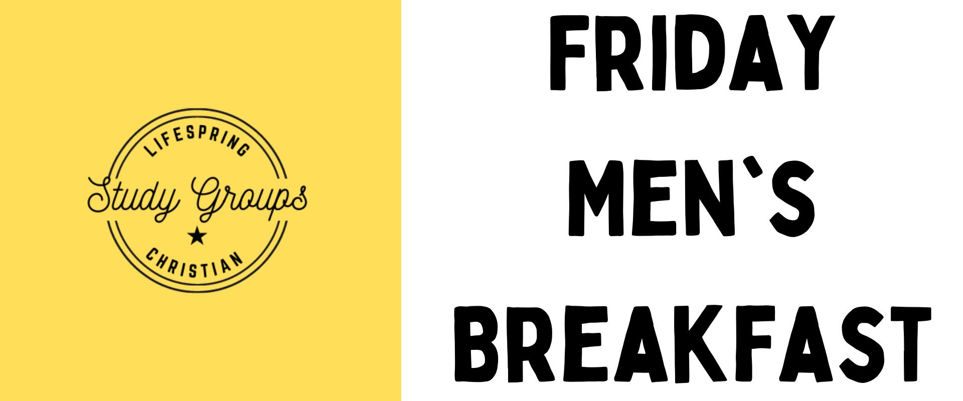 Study Group – Friday Men's Breakfast