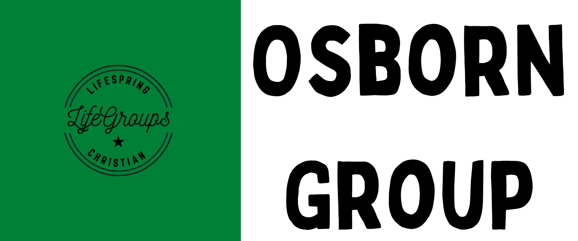LifeGroup – Osborn Group
